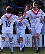 Airdrie players