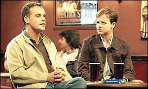 Ant and Dec in their version of The Likely Lads