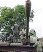 Operation Iron Fist troops in northern Uganda