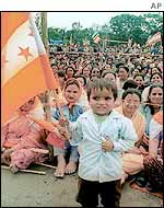 All-party peace rally in Kathmandu