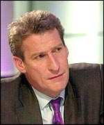 Jeremy Paxman fronts BBC 2's Newsnight