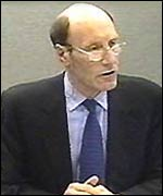 Railtrack Chief Executive John Armitt