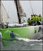 Volvo Ocean Race leader Illbruck