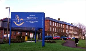 Alder Hey Hospital in Liverpool