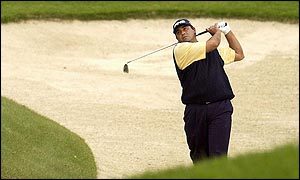 Angel Cabrera on his final round at The Belfry
