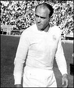 Alfredo Di Stefano was Real's star man