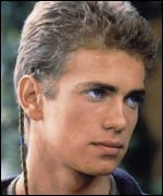 Hayden Christiansen is Anakin Skywalker