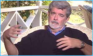 George Lucas talks to Newsround