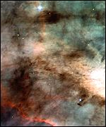 Omega nebula captured by Hubble Space Telescope (AP/Nasa)