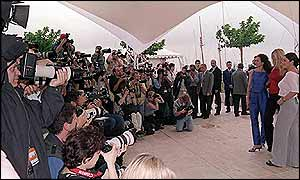 Photographers at Cannes