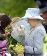 The Queen began a series of engagements on Tuesday