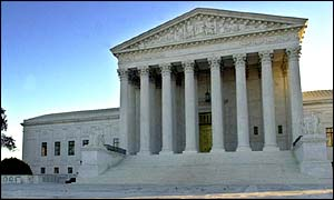 The Supreme Court in Washington DC