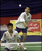 Chew Choon Eng and Chan Chong Ming in action last year