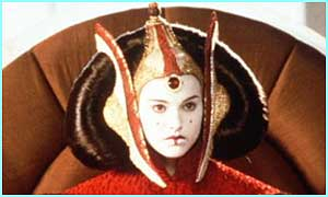 Padme Amidala was the Queen of Naboo before stepping down to become a Senator