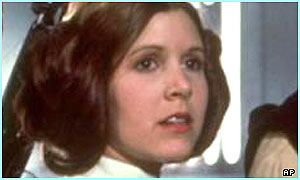 Princess Leia is the daughter of Anakin and Padme Amidala