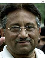 Pakistani leader Pervez Musharraf