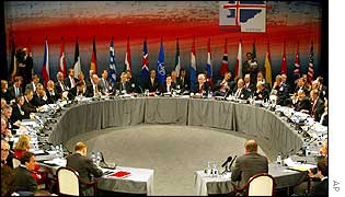 Nato ministers meet in Iceland