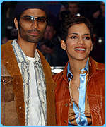 Halle Berry and husband Eric Benet also attended the Premiere