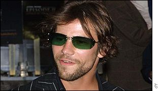 Jay Kay at Tuesday's premi�re