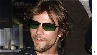 Singer Jay Kay was one of a number of pop stars at the première