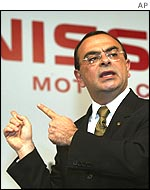 Nissan boss Carlos Ghosn