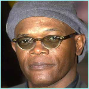 Cooler than Yoda, Samuel L Jackson arrived wearing his shades