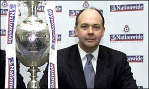 David Burns, chief executive of the Football League