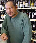 Brixton off-licence owner Winston Paryag