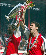 Tony Adams and Martin Keown