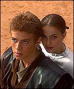 Anakin Skywalker and Queen Amidala