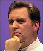 Health Secretary Alan Milburn