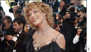 Milla Jovovich, who stars in new movie Resident Evil, was popular with the cameramen
