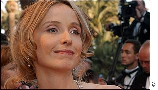 French actress Julie Delpy was pleased to be at the screening