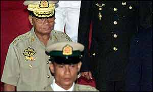 Burma's leader Than Shwe