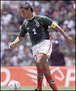 Claudio Suarez of Mexico
