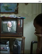 Jimmy Carter on Cuban TV