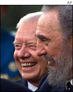 Jimmy Carter and Fidel Castro