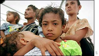 East Timorese refugees