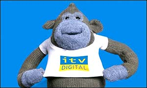 ITV Digital monkey