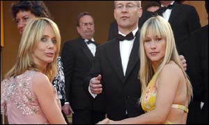 Rosanna (left) and Patricia Arquette