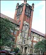 Newcastle University's admin building