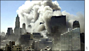 Collapse of the World Trade Center, 11 September 2001