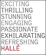 The Hallé's new branding