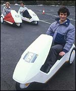 The Sinclair C5, BBC