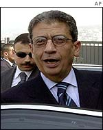 Secretary General of the Arab League Amr Moussa