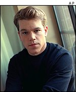 American actor Matt Damon