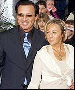 Martin Kemp and wife Shirley