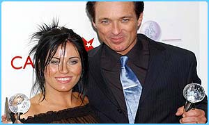 EastEnders stars Jessie Wallace and Martin Kemp