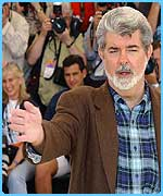 George Lucas is the man behind Star Wars