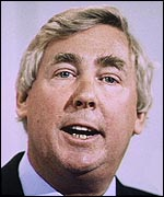 Des Wilson in 1990, as a Liberal Democrat officer